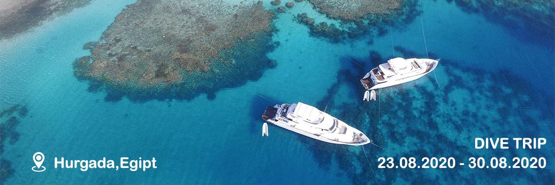 Excursie scuba diving 23-30 August 2020