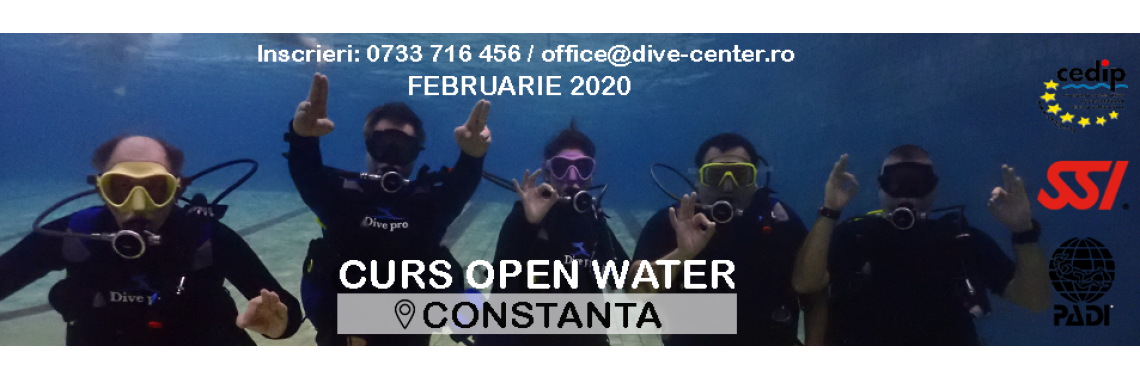 Curs Open Water in CONSTANTA